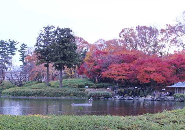茨城県つくば市の松見公園