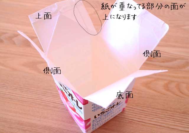 牛乳パック型3
