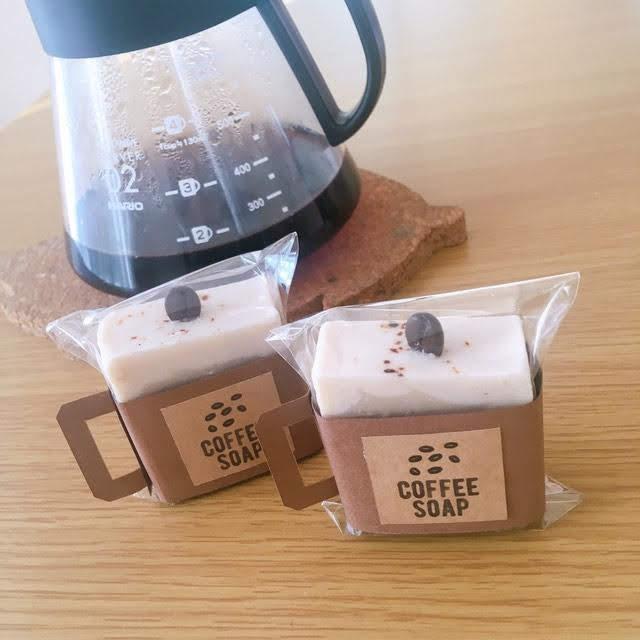 コーヒー石鹸 ラッピング