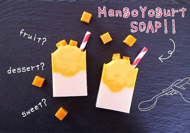 マンゴーヨーグルト石鹸