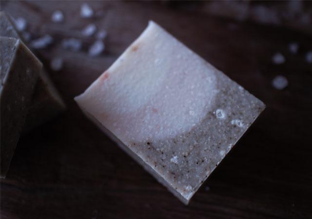 塩と海泥のせっけん